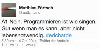 tweetfoertsch